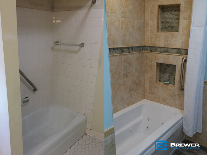 Bathroom2 big brewer contracting remodeling kitchen for Bath remodel kenosha
