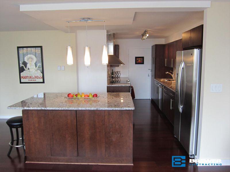 Kitchen4 big brewer contracting remodeling kitchen bath floor waterproofing racine - Bathroom remodel kenosha wi ...