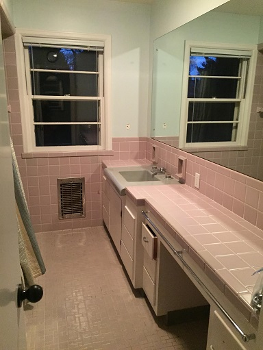 Bathroom before brewer contracting remodeling kitchen for Bath remodel kenosha