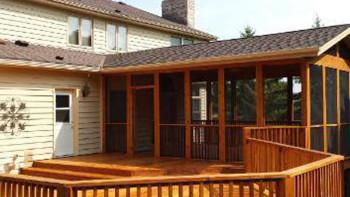 Deck construction, porch construction, Racine, Kensha, Milwaukee, Wi, Lake Bluff, Ill
