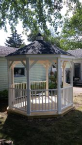 Gazebos, gazebo construction, racine, kenosha, Milwaukee, Remodeling